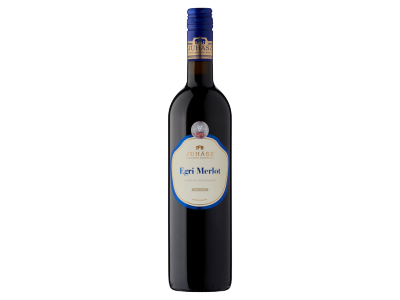 Juhász Egri Merlot száraz vörösbor 13% 0.75l