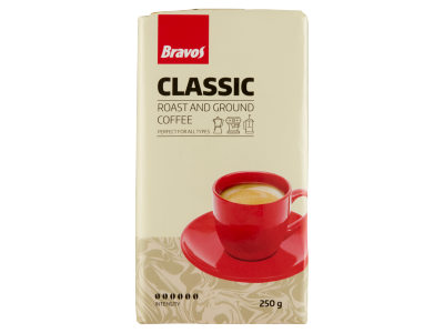Bravos classic őrölt kávé 250g