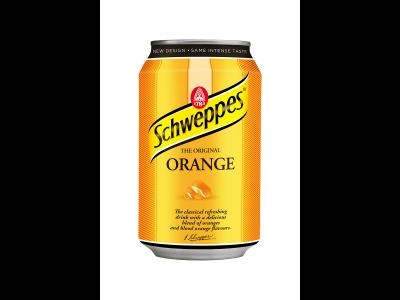 Schweppes orange narancsízű szénsavas üdítőital 330ml