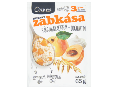 Cornexi zabkása sárgabarack-joghurt 65g