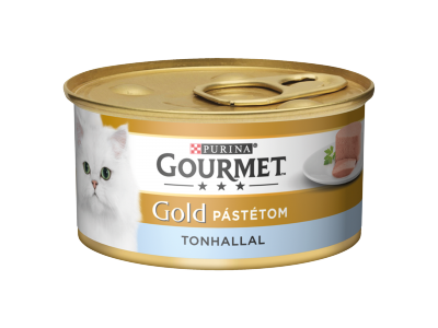 Gourmet Gold felnőtt macskáknak, tonhalas pástétom 85g
