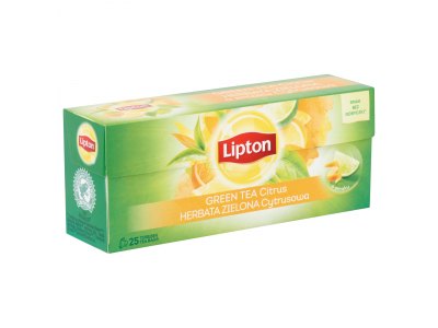 Lipton citrus zöld tea 25x1.3g