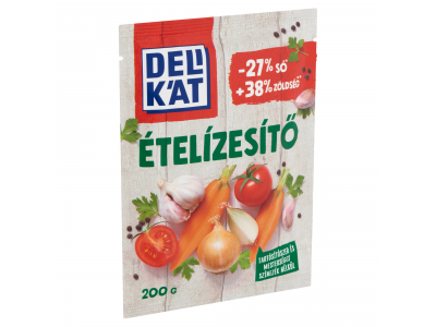 Delikát ételízesítő csökkentett sótartalommal 200g