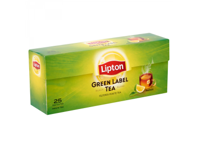 Lipton tea green label filteres 25x1,5g