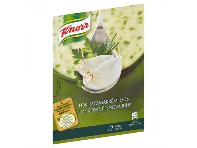 Knorr fokhagymakrémleves 2 tányéros 55g