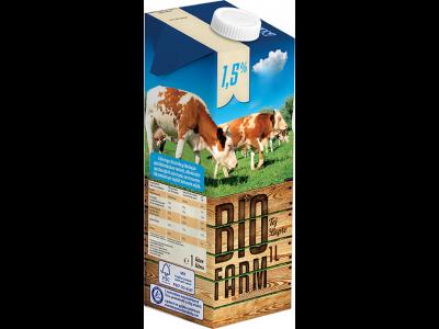 Mizo Biofarm BIO zsírszegény UHT tej 1,5% 1l