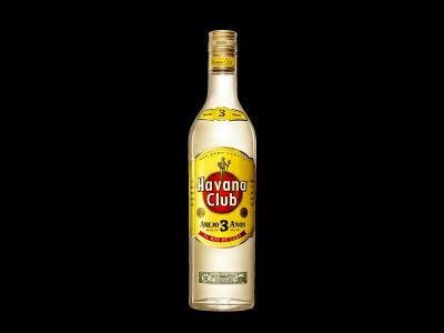 Havana Club 3 évig érlelt eredeti kubai rum 40% 0,7l