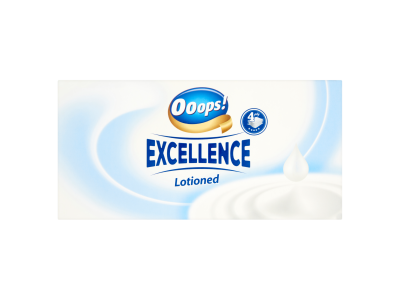 Ooops! Excellence Lotioned papír zsebkendő 80db