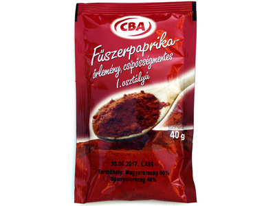 CBA fűszerpaprika 40g