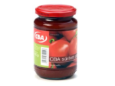 CBA sűrített paradicsom 18-20% 360g