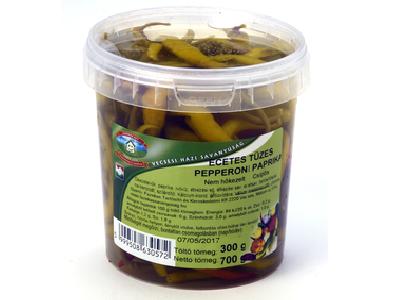 Fazekas ecetes tüzes pepperoni paprika 700g/300g