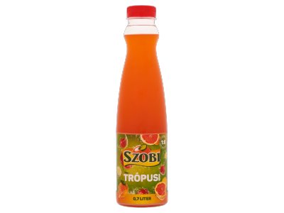 Szobi trópusi ízű gyümölcsszörp 0,7l