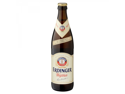 Erdinger Weissbrau szűretlen bajor vil.búzasör 5,3% 0,5l üv.