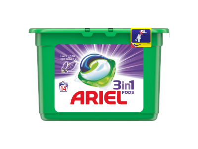 Ariel lavender 3in1 mosókapszula 14db