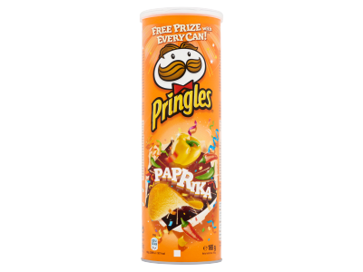Pringles paprika chips 165g