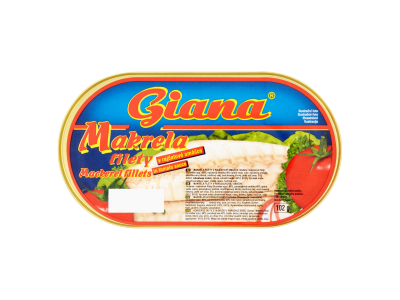 Giana makrélafilé paradicsomszószban 170g