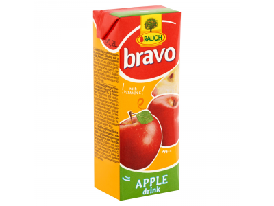 Bravo gyümölcsital alma cukorral és éd.szerekkel, C-vit.0,2l