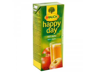 Rauch Happy Day almalé 100% 0.2l