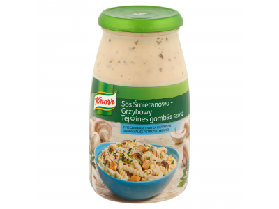 Knorr tejszínes-gombás szósz 500g