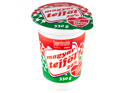 Magyar tejföl 20% 330g