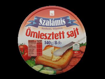 CBA kördobozos sajt szalámis 140g