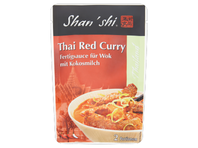 Shan Shi thai red curry (wok szósz kókusztejjel) 120g