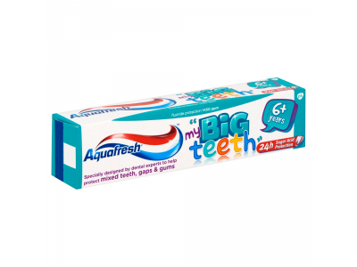 Aquafresh fogkrém big teeth 50ml