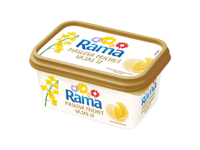 Rama margarin gold tégelyes 400g