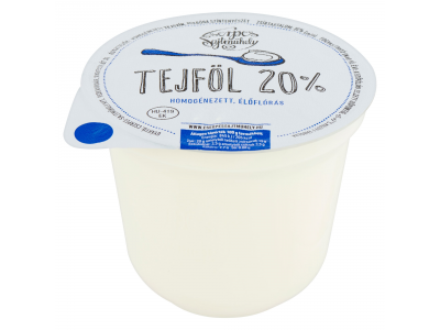 Cserpes tejföl 20% 250g