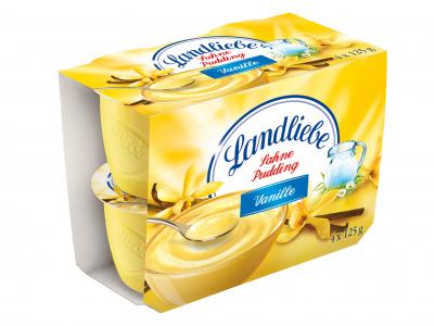 Landliebe puding desszert multipack vanilia 4×125g