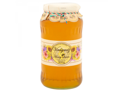 Honey queen virágméz 900g
