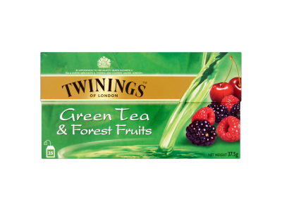 Twinings erdei gyümölcs ízesítésű zöld tea 25x1.5g