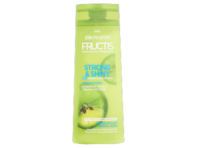 Garnier fructis strong&shiny 2in1 hajerősítő sampon 250ml