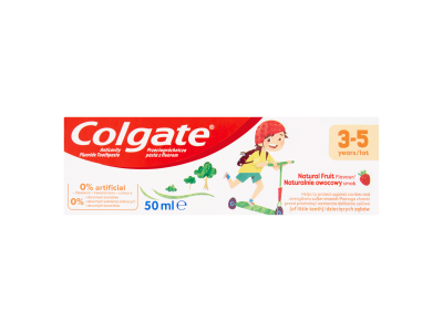 Colgate Natural Fruit fogkrém 3-5 éves korig 50ml
