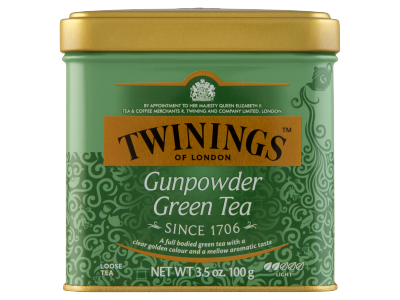 Twinings Gunpowder klasszikus zöld tea 100g