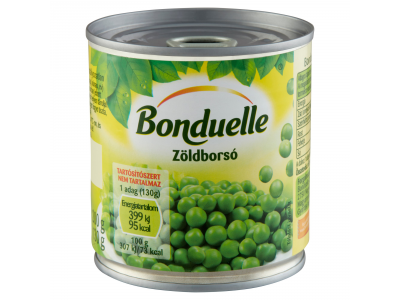 Bonduelle zöldborsó konzerv tépőzáras 200/130g