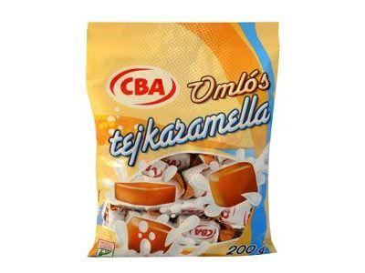CBA omlós tejkaramella 200g