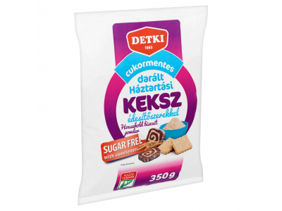 Detki cukormentes darált háztartási keksz 350g