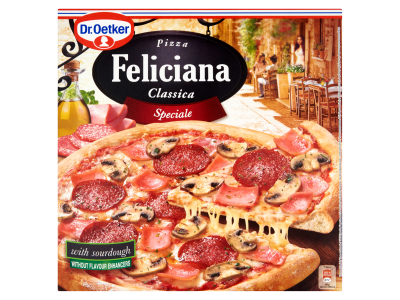 Dr. Oetker Feliciana speciale pizza 335g