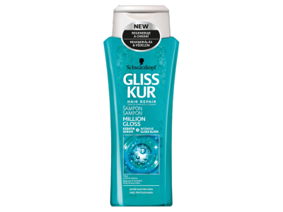 Gliss million gloss sampon 250ml