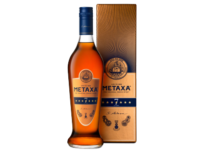 Metaxa 7* mediterrán likőrkülönlegesség 40% 0,7l