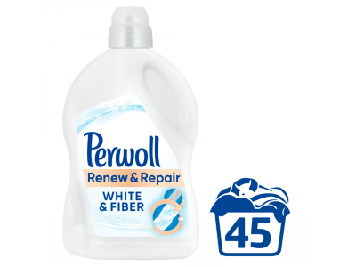 Perwoll finommosószer fehér textíliákhoz 45 mosás 2.7l