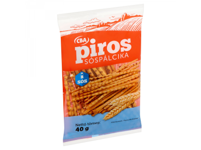 CBA PIROS sóspálcika 40g