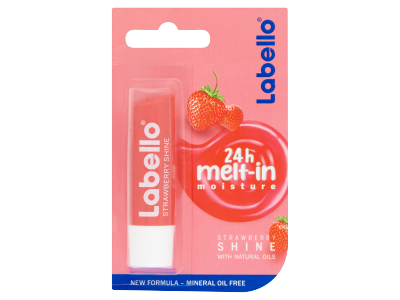 Labello ajakápoló strawberry shine 4,8g