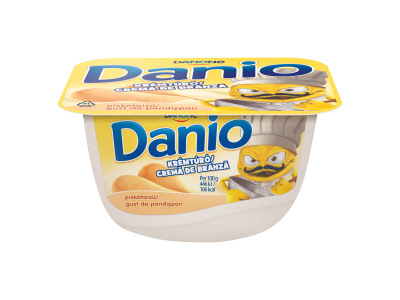 Danio piskótaízű krémtúró 130g