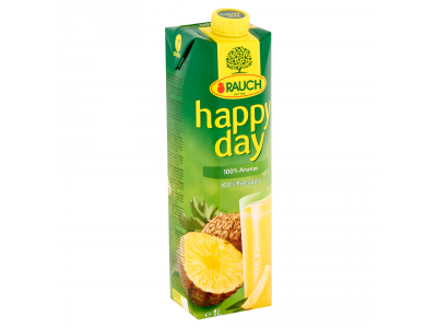Happy day gyümölcslé ananász 100% 1l