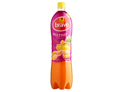 Bravo gyümölcsital multivitamin 1,5l