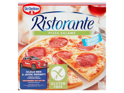 Dr.Oetker Ristorante gluténmentes pizza salame 315g