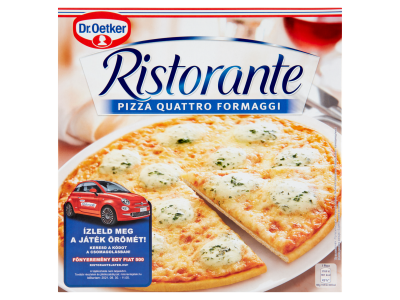 Dr.Oetker Ristorante pizza quattro formaggi 340g