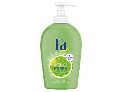 Fa folyékony krémszappan hygiene&fresh lime 250ml